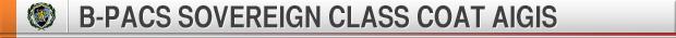 B-PACS SOVEREIGN CLASS COAT AIGIS