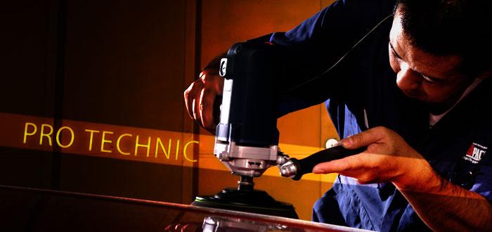 ガラスコーティング作業工程