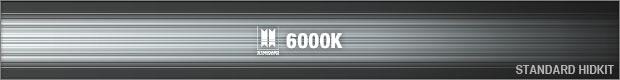 STANDARD [B-PACS ORIGINAL HID] 6000K