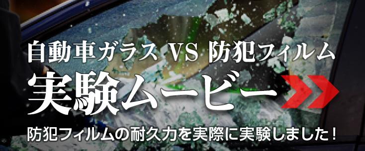 防犯フィルム耐衝撃ムービー
