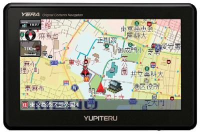 カーナビゲーション×GPSターゲット情報「YPL500si」
