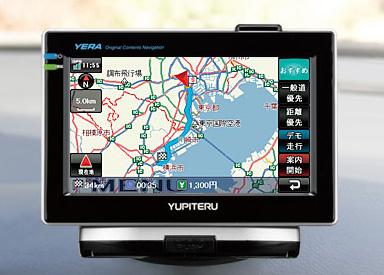 ユピテル カーナビゲーション YERA(イエラ)「YPB435si」