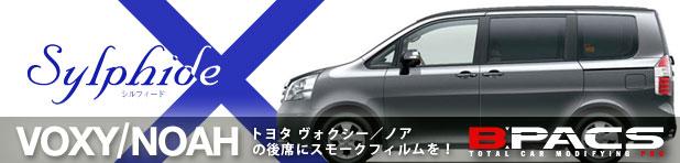 車種限定!トヨタ・VOXY/NOAHに特別価格でカーフィルム(プライバシーフィルム)を施工いたします!