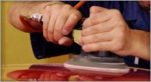 ガラスコーティング作業イメージ