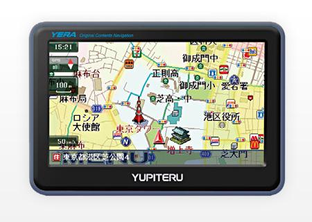 ユピテル カーナビゲーション YERA(イエラ)「ZN410si」