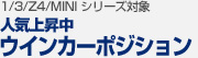 【BMW 1/3/Z4/MINI シリーズ 対象】人気上昇中!ウインカーポジション